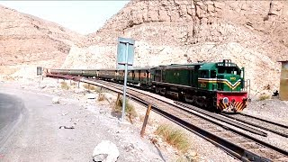 Pakistan Railways Akbar Express in Bolan | Balochistan