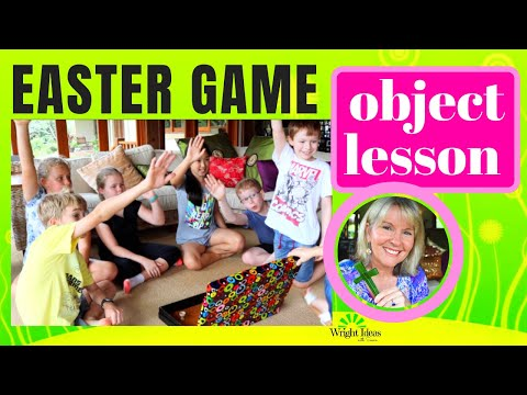 EASTER GAME & OBJECT LESSON game for church, home & school