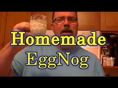 Easy Homemade Eggnog