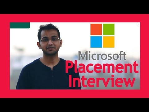 Campus Placement -Microsoft- Software Developer