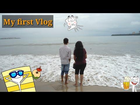 My first Vlog : MUMBAI'S Beach | MARIN DRIVE | Girgaon Chaupati beach