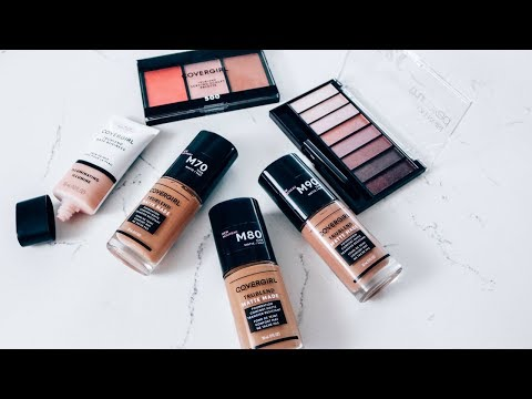 Testing out the new CoverGirl TruBlend Matte MadeFoundation   First Impression   Ashley Bloomfield