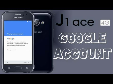 Samsung Galaxy J1 Ace Remove Google Account (New Way)