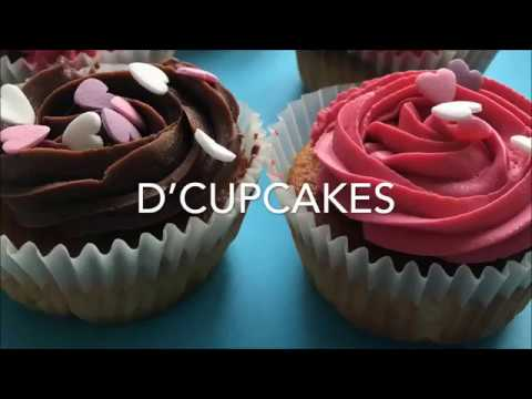 How to make a Valentine's day cupcake