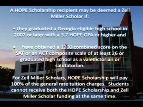 What is a HOPE scholarship and how am I eligible for HOPE scholarship?
