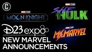 Marvel Announces Moon Knight, She Hulk, & Ms. Marvel for Disney +