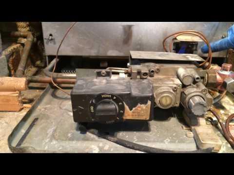 How to start Baxi Bermuda 552BBU chimney breast installed gas boiler