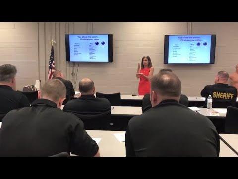 American Sign Language lesson at PBSO