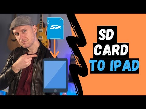 How to transfer photos + videos from Digital Camera SD Card to iPad | VIDEO TUTORIAL