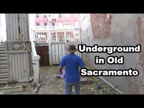 Historic Old Sacramento - Underground Tunnels and Old Buildings - Road Trip Day 11 Vlog 29