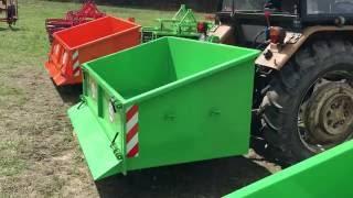 Skrzynia ładunkowa transportowa otwierana i zamykana