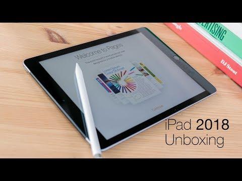 iPad 2018 unboxing