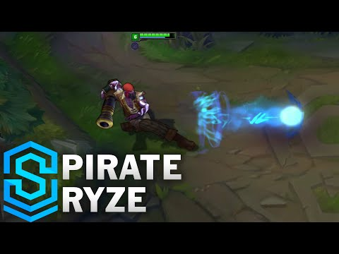 Pirate Ryze Skin Spotlight - Pre-Release - League of Legends