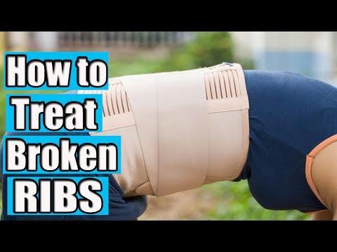 How to Treat Broken Ribs | broken ribs treatment
