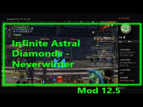 Infinite Astral Diamonds & Gold Loop - Neverwinter Mod 12.5
