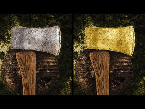 How to Change Objects Gold in Photoshop
