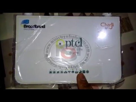 Part1: Use Any 3G USB Modem With PTCL Router