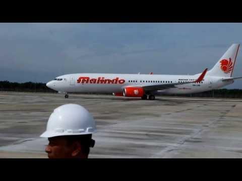 KLIA 2 - Runway 3 Trial Landing: MALINDO Air Flight 737- 900ER