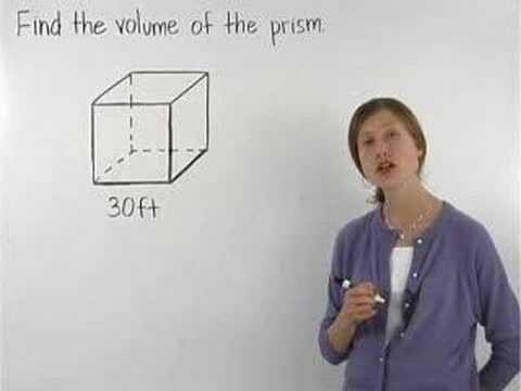 Volume of a Cube - MathHelp.com - Math Help