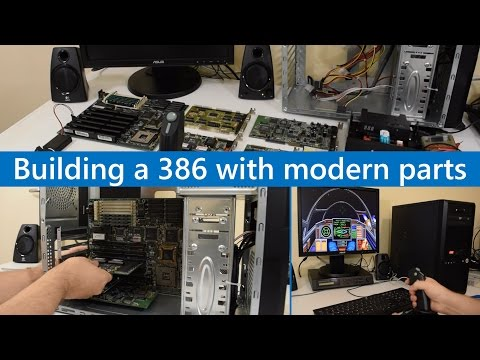Building a 386 DOS gaming PC with modern parts Roland MT-32