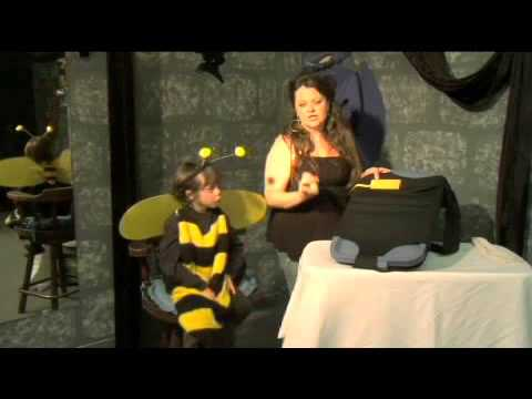 How to Make a Halloween Bee Costume