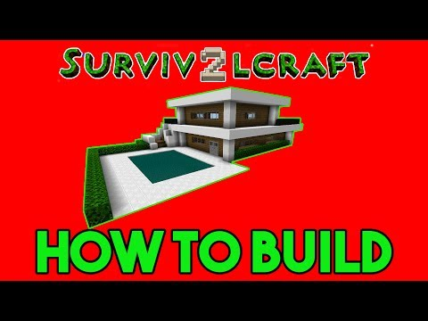 Survivalcraft 2: Simple Modern House Tutorial