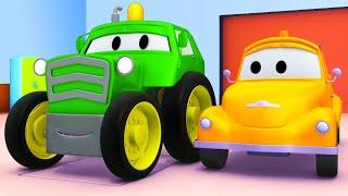 Super Truck द एम ब ल स Car City Cartoon In Hindi