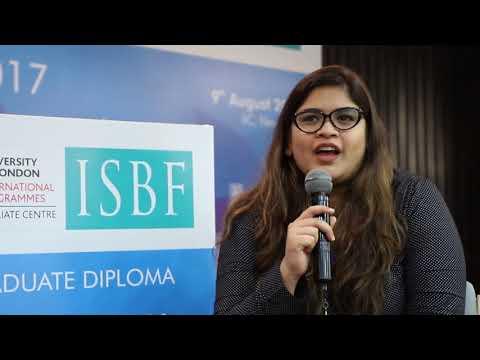 Student's Speak @ ISBF Orientation -  Graduates Diploma Programmes 2017