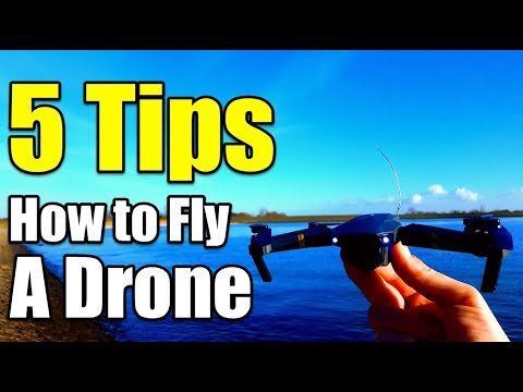 5 Tips How To Fly a Quadcopter/Drone For Beginners With Eachine E58 To Learn The Basics Skills