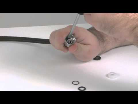 Pull Down Kitchen Faucet Sprayhead and Weight Adjustment