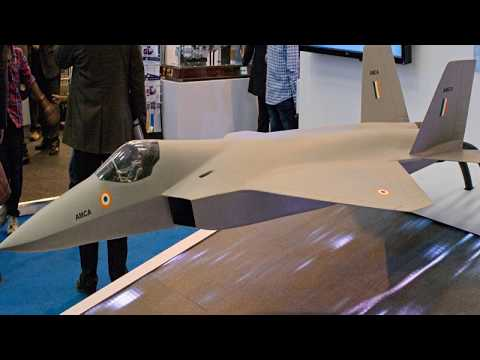 India's AMCA 5th Generation Stealth Fighter Aircraft