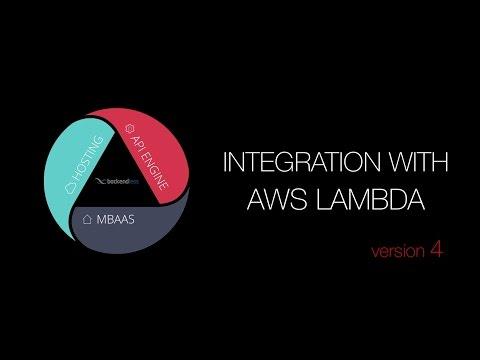 Backendless and AWS Lambda Integration