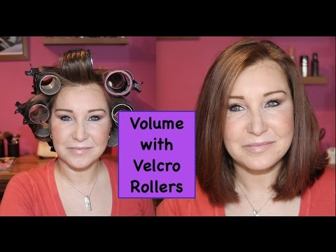 How To Use Velcro Rollers For Volume
