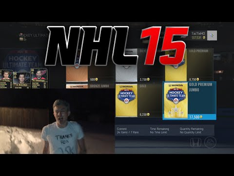 NHL 15 HUT: CRAZY PACK METHOD AND GIVEAWAY FOR 25K!