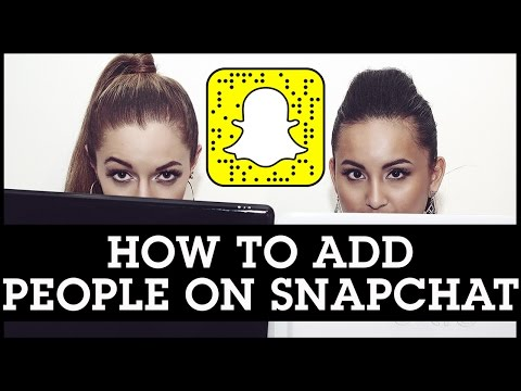 How To Add People on Snapchat By Username, Address Book, Snapcode, or Nearby