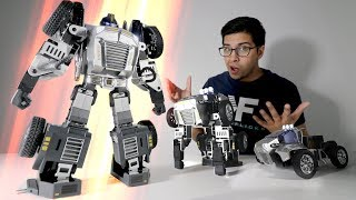 REAL LIFE Transformers Robot!? - Unboxing & Review!
