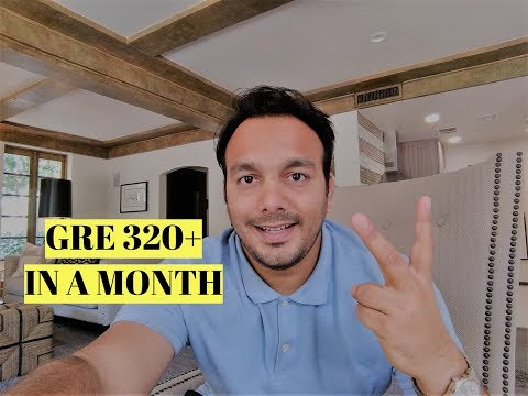 How to Crack GRE Exam in 30 days  | Week by week study plan to score 320+