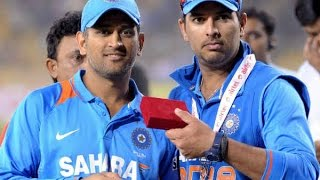 MS Dhoni and Yuvraj after Dhoni