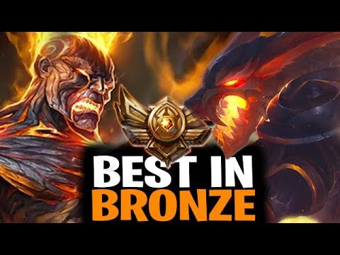 Best Champions to Play to Climb Out of Bronze For ALL Roles - League of Legends