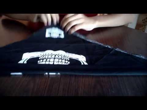 how to make bandana for wrist EASY!!!