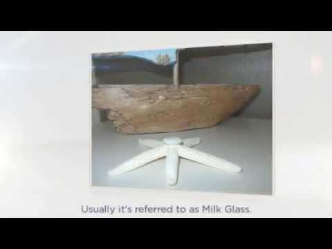 Milk Glass Sea Glass