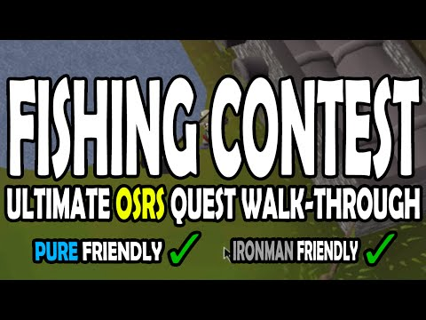 [OSRS] Fishing Contest Quest Guide for Pures on Old School RuneScape