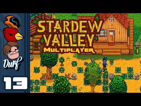 Let's Play Stardew Valley Multiplayer [v1.3 Beta] - Part 13 - Blueberries For The Blueberry Farm!