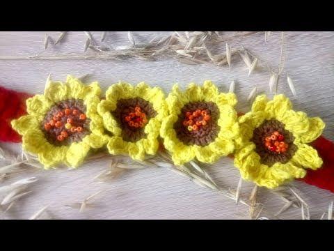 DIY How to crochet a headbandTutorial