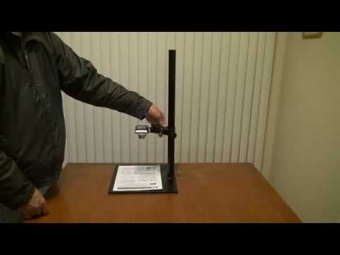 DIY Copy Stand for Digital Camera and for Scanning Documents
