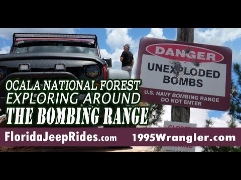 Did you know there was a bombing range in Ocala National Forest?