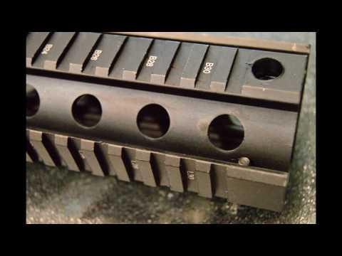Feyachi Aluminum Carbine Quad Rail and Bubble Level Kit