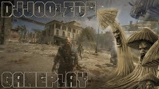 DJJOOLZDE Gameplay - Dying Light - Courtyard Slaughter