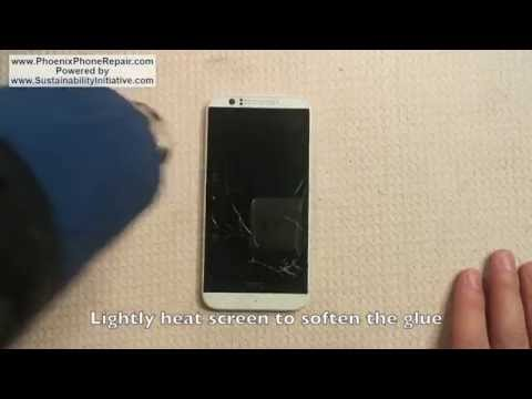 HTC Desire 510 Repair  - Digitizer Screen Removal (Full 1080p HD)