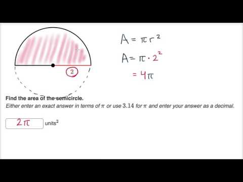 Partial circle area and arc length
